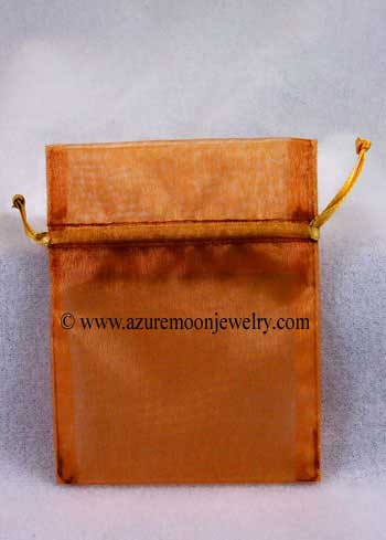 Organza Bag - Copper