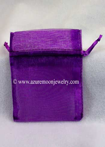 Organza Bag - Medium Purple