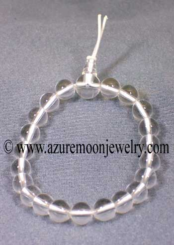 Gemstone Power Bracelet-Clear Quartz