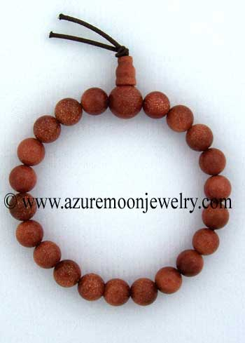 Gemstone Power Bracelet-Goldstone