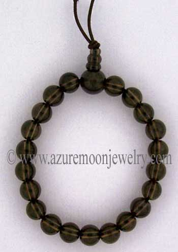 Gemstone Power Bracelet-Smoky Quartz