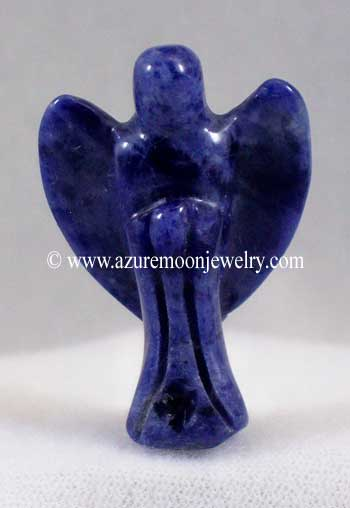 Gemstone Pocket Angel - Sodalite