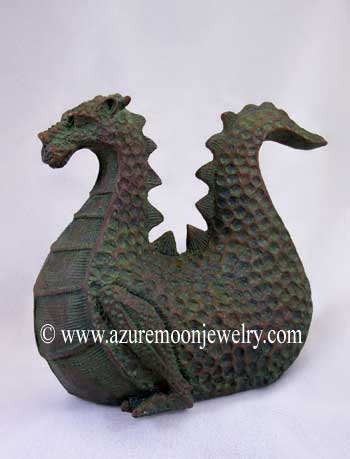 6 Inch Medieval Dragon Statue