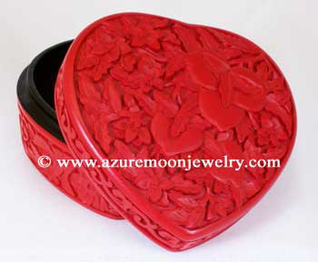 Cinnabar Box - Heart