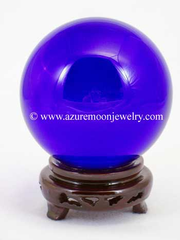 110mm Blue Quartz Crystal Ball