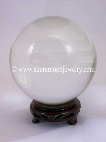 130mm Clear Quartz Crystal Ball