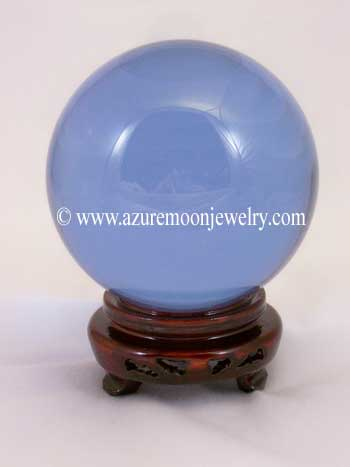 110mm Lavender Quartz Crystal Ball