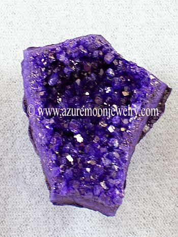 Amethyst Cluster Magnet - Enhanced