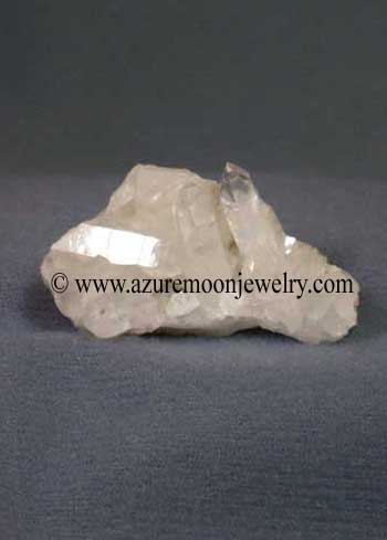 Clear Quartz-Crystal Quartz Cluster Magnet